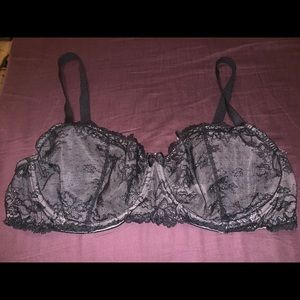 Apt. 9 40D Gorgeous Sheer Lace Bra